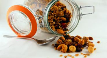 Hazelnut and Almond Granola